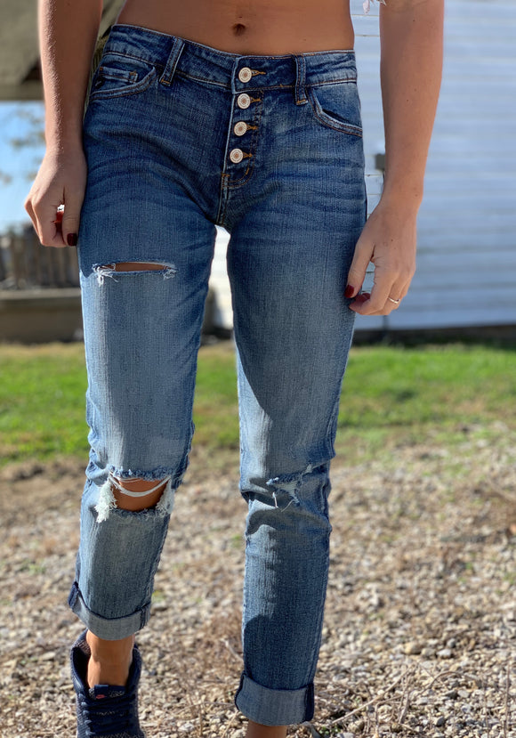 Bourbon Boyfriend Denim