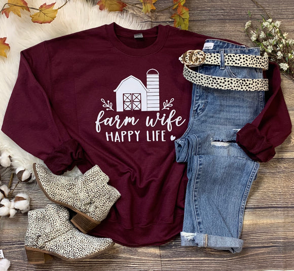 Farm Wife Crewneck
