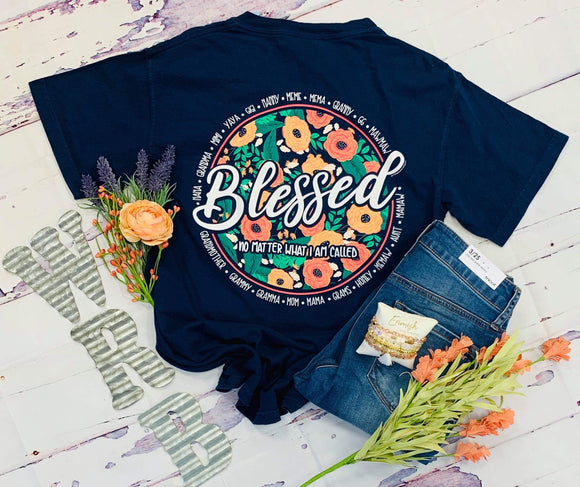 Southernology : Blessed No Matter What Tee