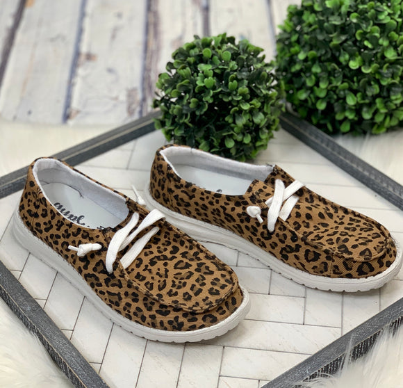 Look Alike Slip-On: Leopard