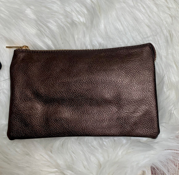 Lizzy Bronze Crossbody
