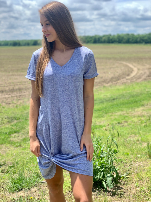 Posey Periwinkle Dress