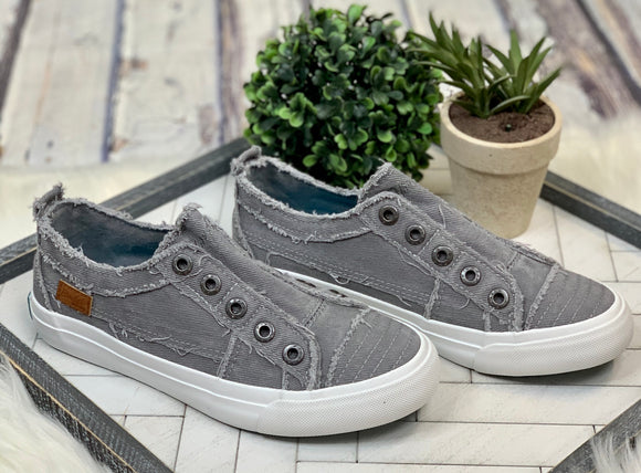 Blowfish Play Sneaker: Light Grey