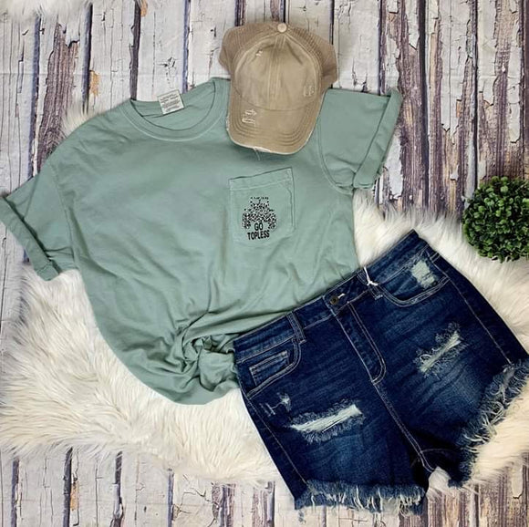 Go Topless Pocket Tee