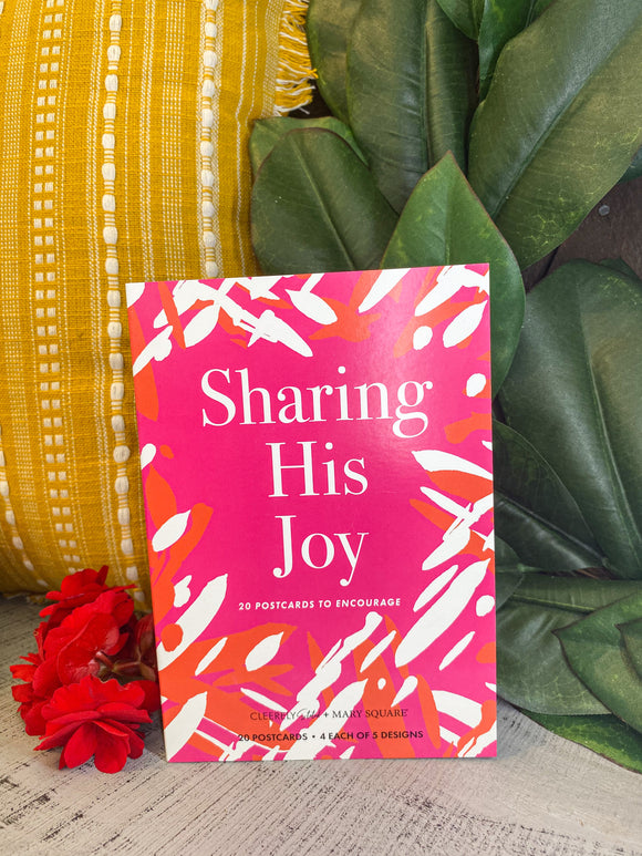 Postcard Book- Sharing his joy: Mary Square