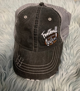 Trucker Hat : Football Mom