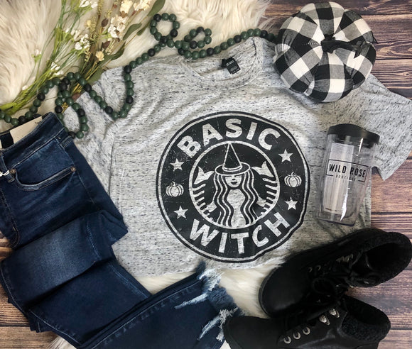Basic Witch Tee Cosmic White