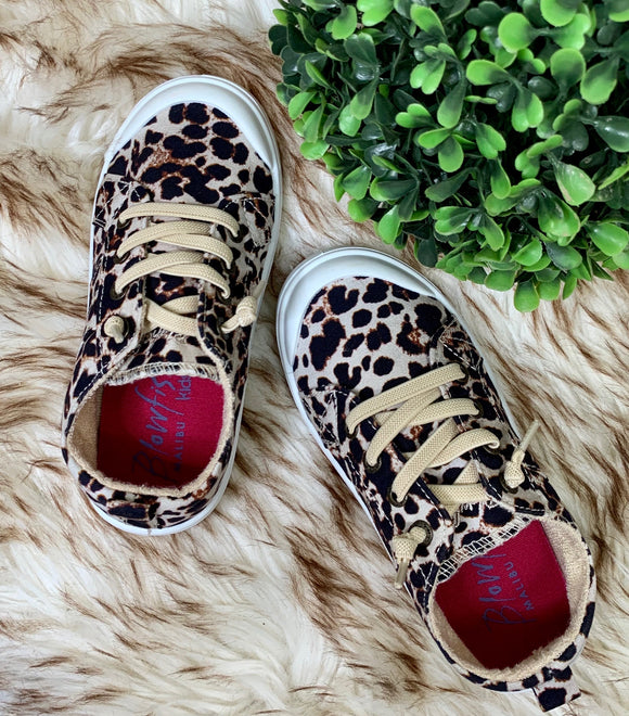 Blowfish: Toddler & Kids- Cheetah Sneaker