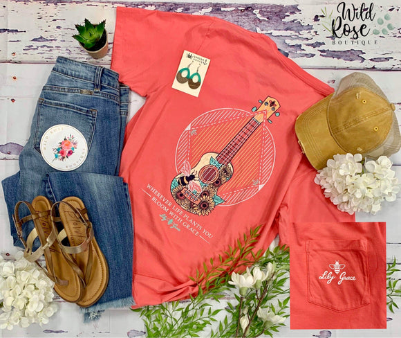 Lily Grace: Bloom with Grace Tee