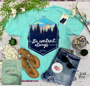 Lily Grace: Be Content Tee
