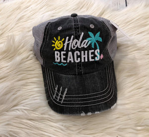 Trucker Hat : Hola Beaches