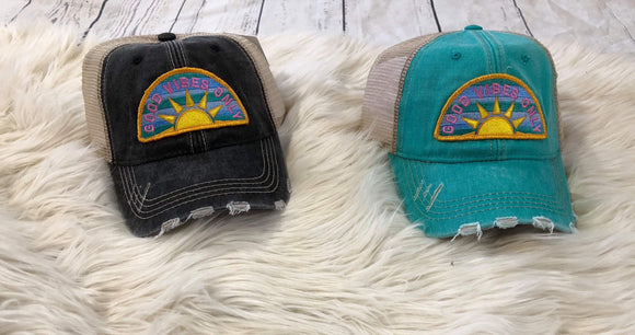 Trucker Hat : Good Vibes Only