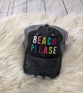 Trucker Hat : Beach Please