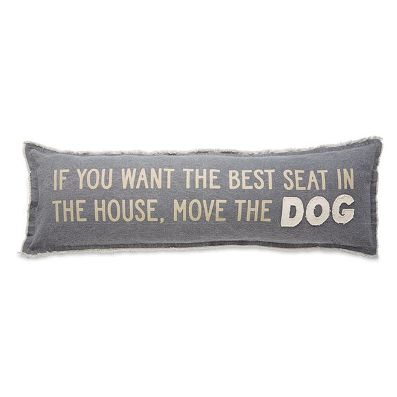 Mudpie : Move the Dog Long Pillow