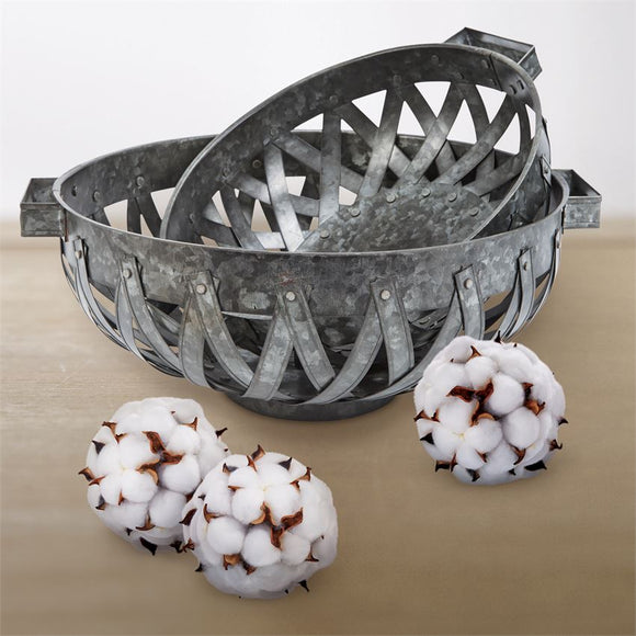 Mudpie : Nesting Metal Basket Set