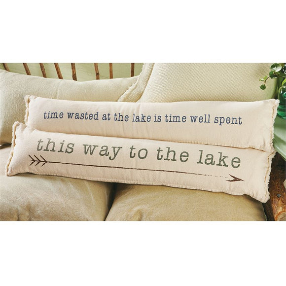 Mudpie : Skinny Lake Pillows