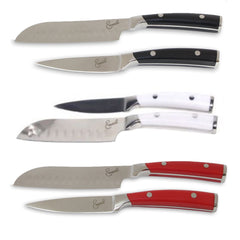 "Emeril 2 Piece 5"" Santoku Cutting/Paring Knife Set"