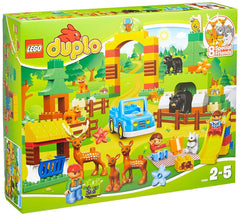 LEGO Duplo Town 10584 Park Forest Play Building Set, 105 Pieces