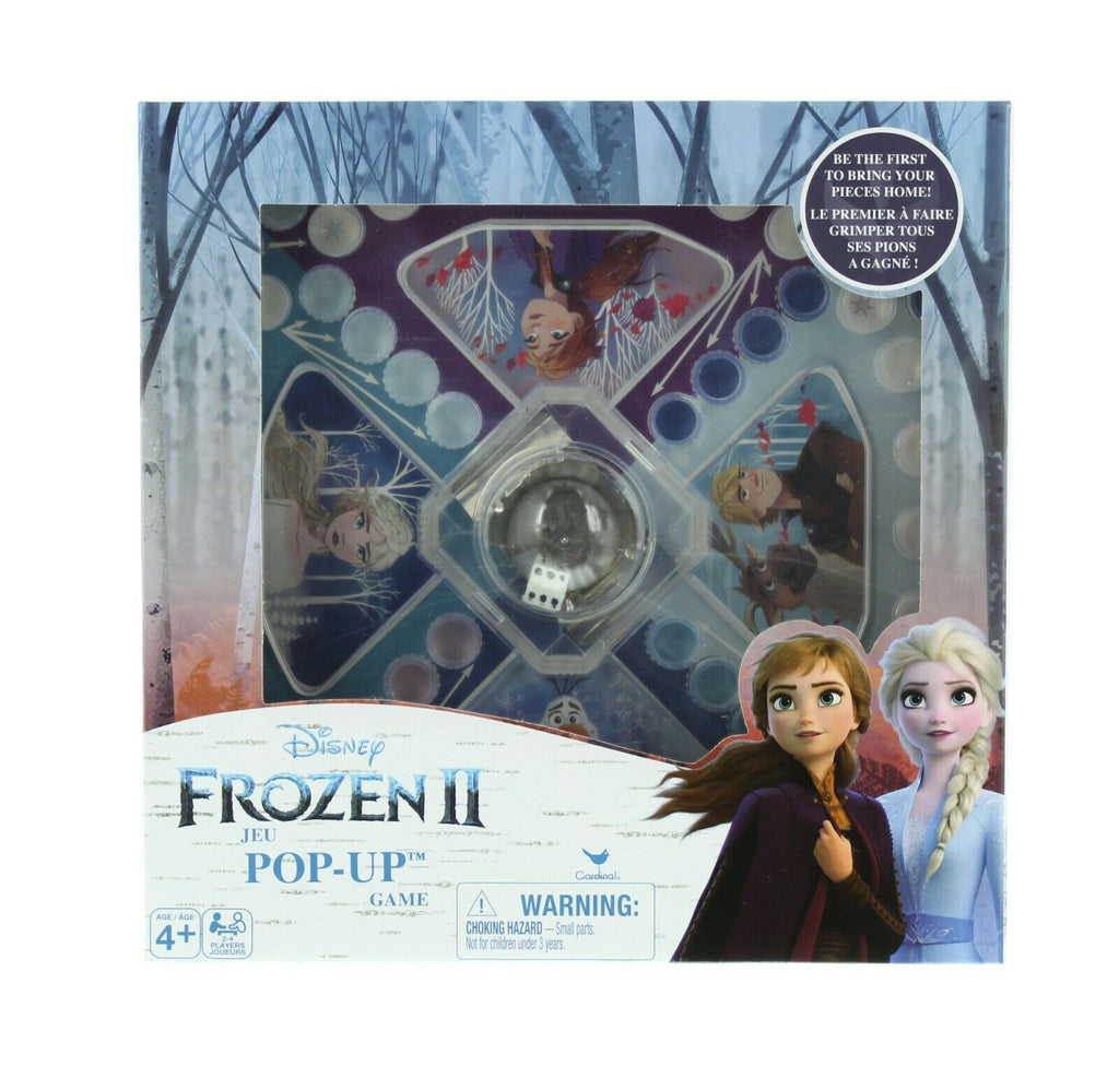 Disney Frozen 2 Pop Up Game, Pop-Up Die Race Board Game, Ages 4+