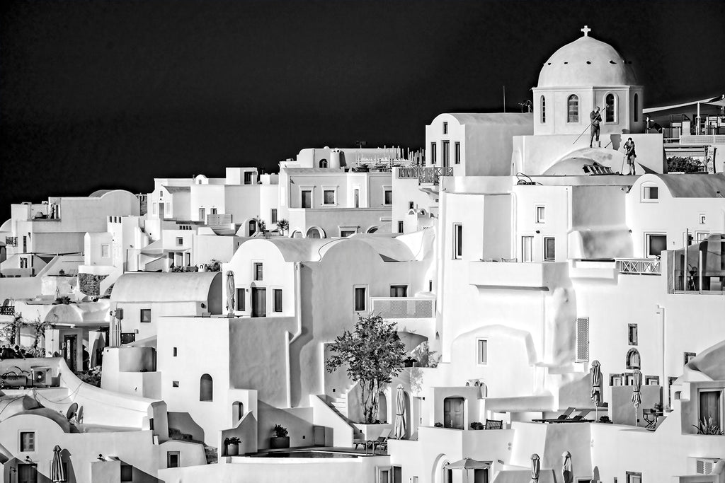 Painting Santorini White