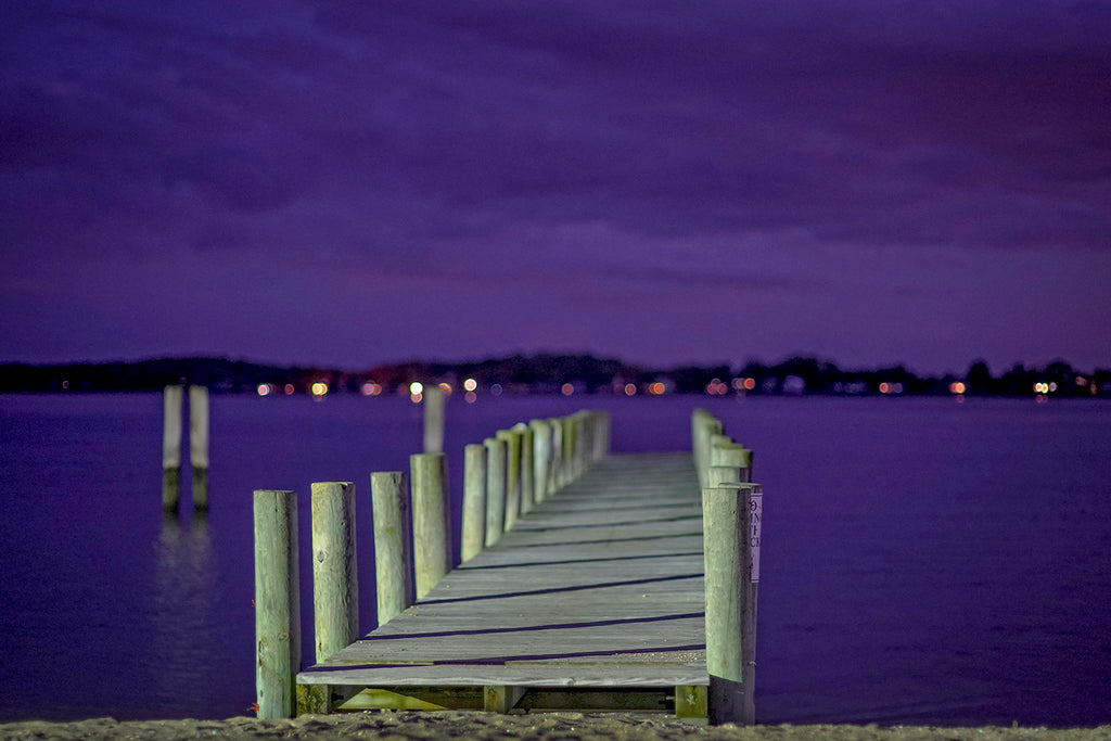Dock At Purple