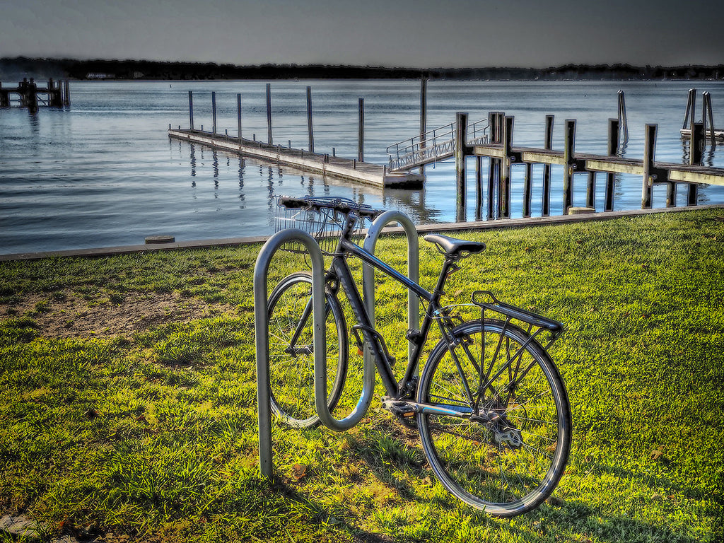 Bicycle Near Dock