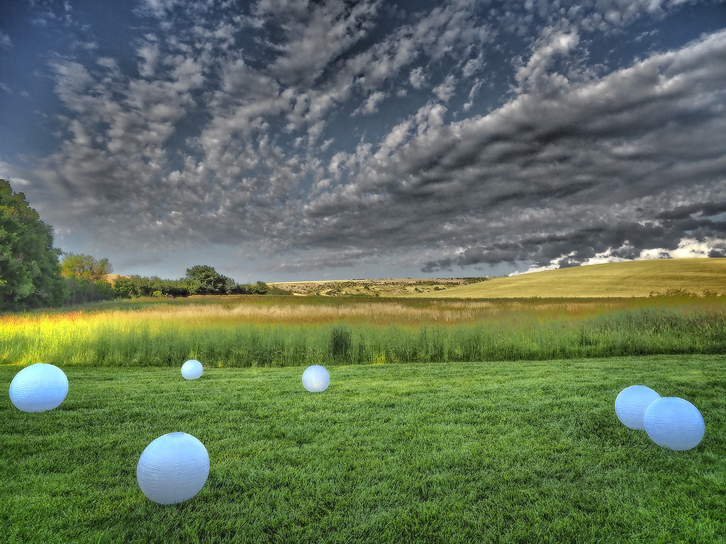 White Spheres In Walla Walla