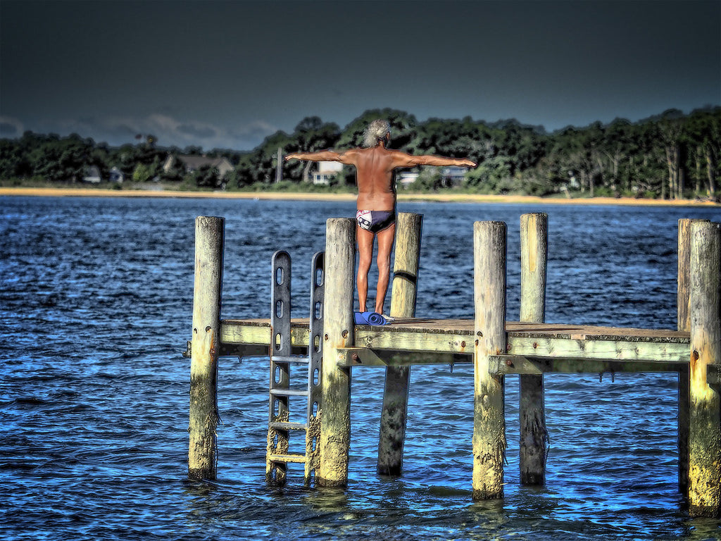 Exercising on the Dock