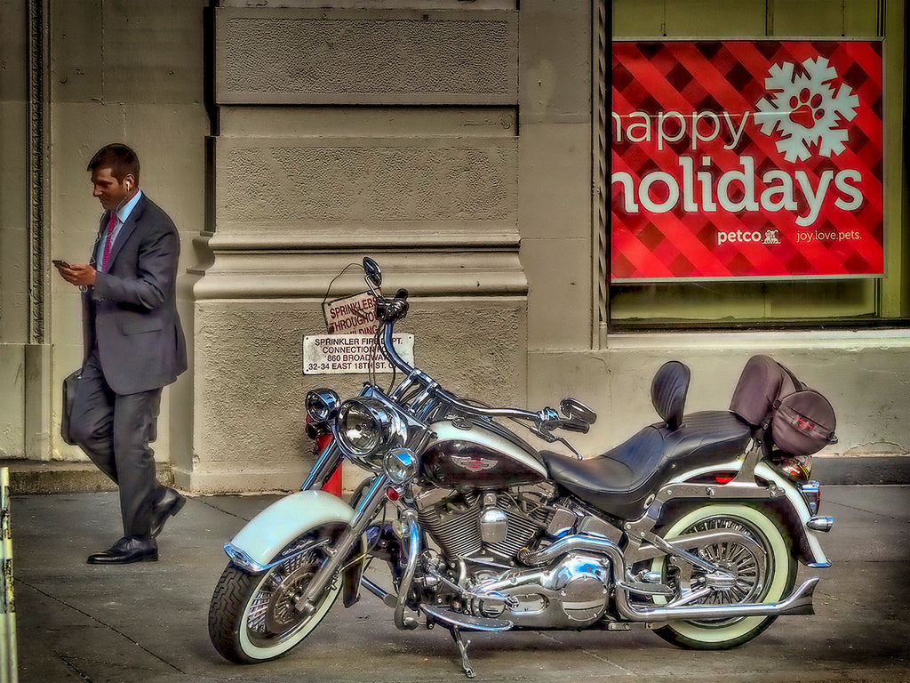 Happy Holiday Motorcycle