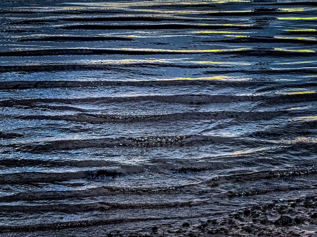 Waves At Waters Edge