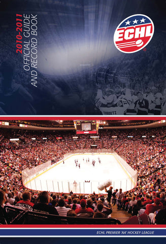 ECHL Media Guide - Print Edition - 2010-11