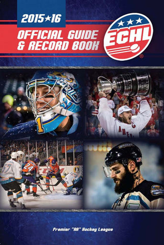 2015-16 ECHL Media Guide - Print Edition