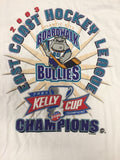 2003 Kelly Cup Champions T-Shirt - Atlantic City Boardwalk Bullies - Size XL