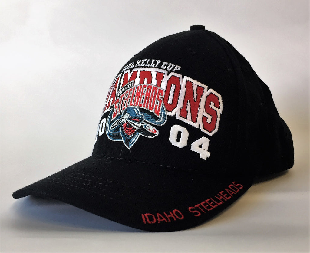 2004 - Kelly Cup Champions Hat - Idaho Steelheads - One Size Fits All