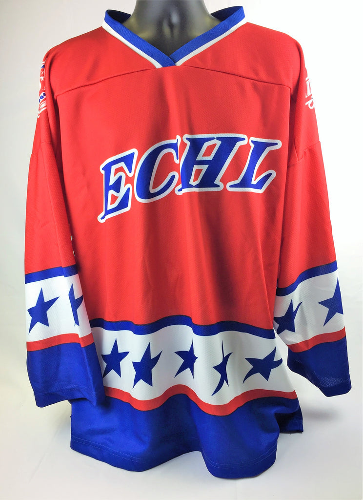 2004 All-Star Replica Hockey Jersey - Red - XL