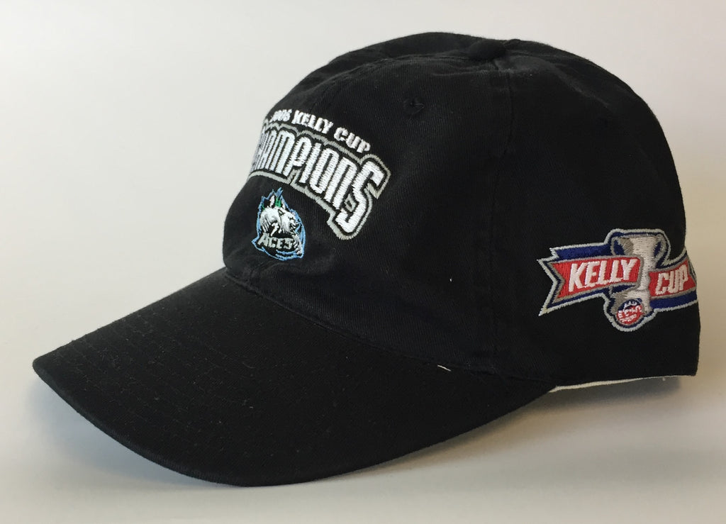 2006 - Kelly Cup Champions Hat - Alaska Aces - One Size Fits All