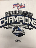 2007 Kelly Cup Champions T-Shirt - Idaho Steelheads - Size XL