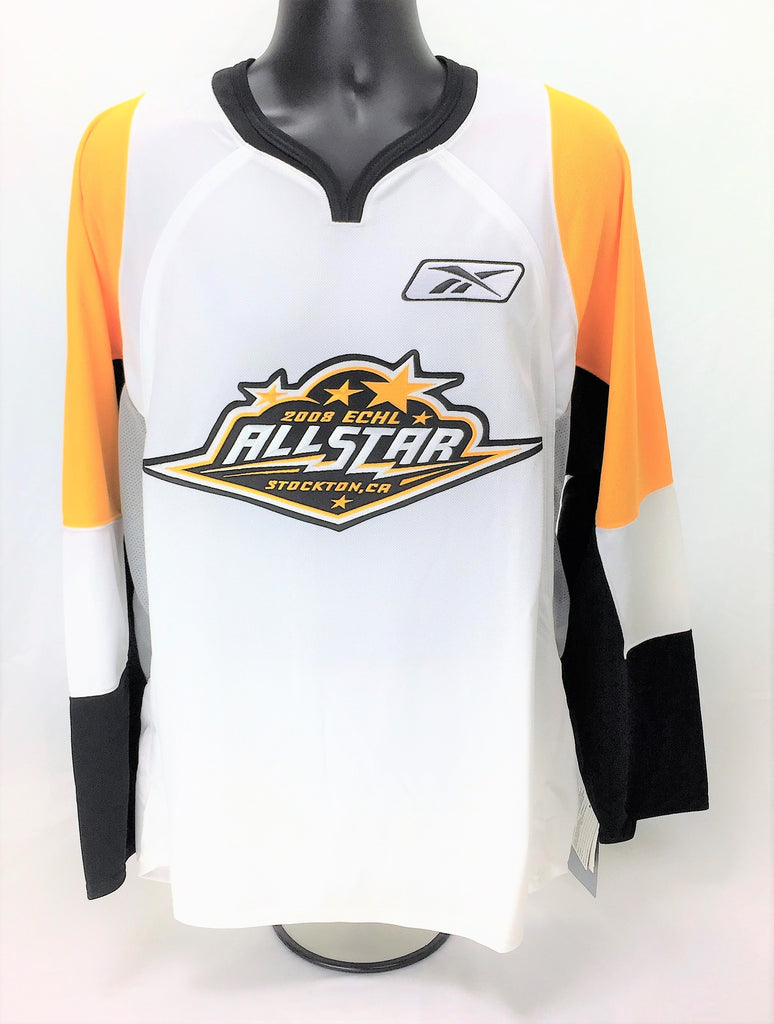 2008 All-Star Replica Hockey Jersey - White - Large