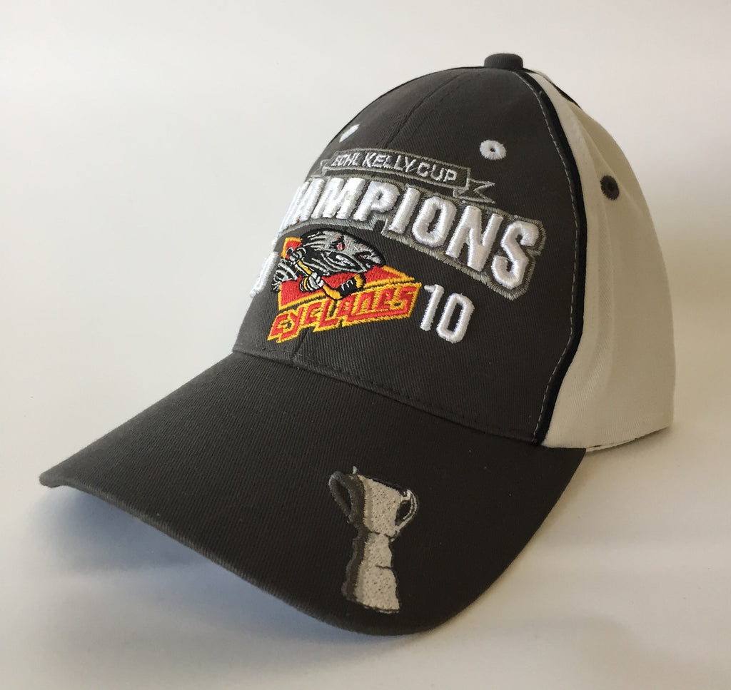 2010 Kelly Cup Champions Hat - Cincinnati Cyclones - One Size Fits All