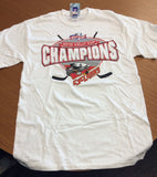2010 Kelly Cup Champions T-Shirt - Cincinnati Cyclones Size Medium