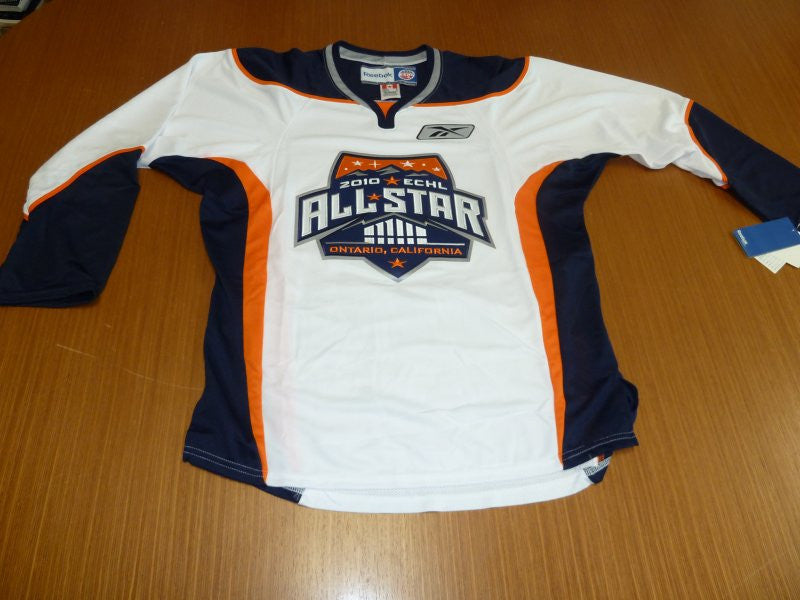 2010 All-Star Replica Hockey Jersey - White - L