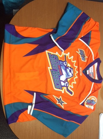 2015 All-Star Authentic Jersey - Orange - 54