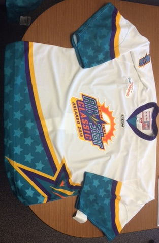 2015 All-Star Authentic Jersey - White - 56
