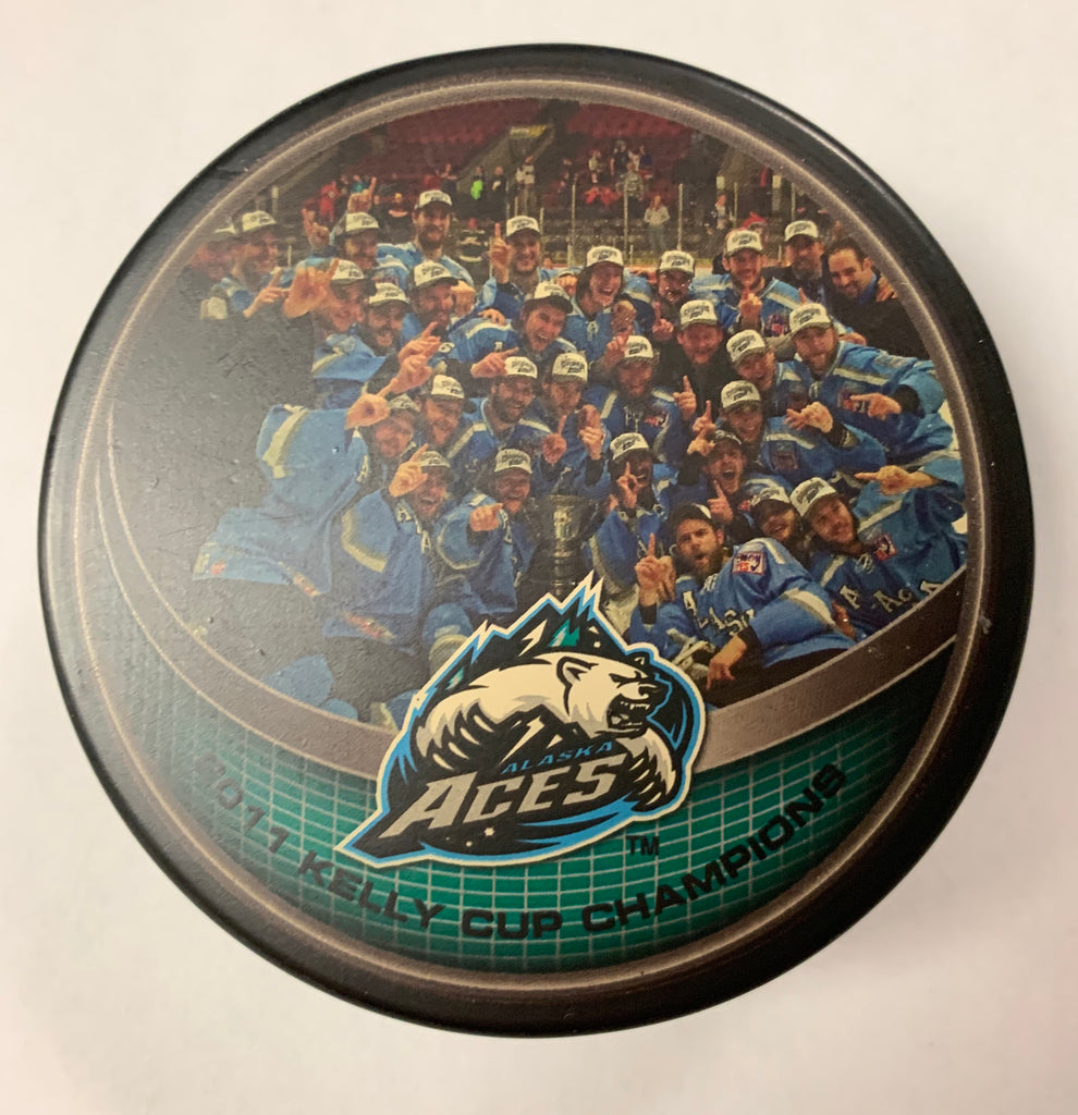 Alaska Aces 2011 Kelly Cup Champions Hockey Puck
