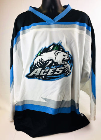 Alaska Aces Authentic Jersey - White - Size 54
