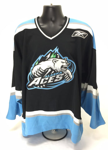 Alaska Aces Authentic Jersey - Dark - Size 54