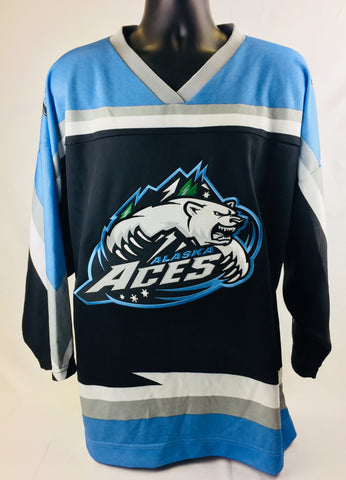 Alaska Replica Hockey Jersey - Dark - L