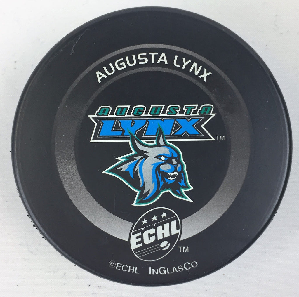 Augusta Lynx Hockey Puck