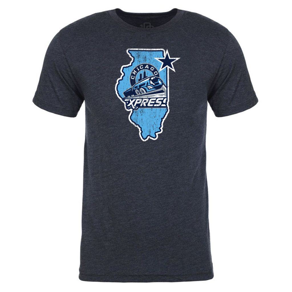 Chicago Express Men's State Tee