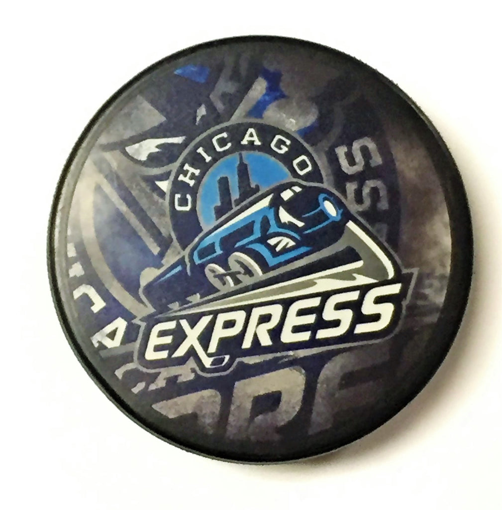 Chicago Express Hockey Puck